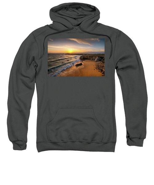 Pointe Du Percho And Port Blanc Sweatshirt
