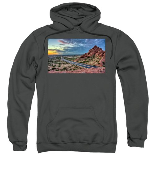 Popago Park Views  Sweatshirt