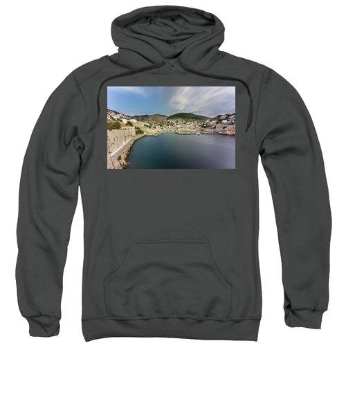 Port At Hydra Island Sweatshirt