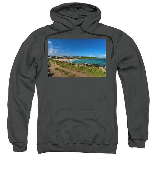 Porthmeor Beach - St Ives Cornwall Sweatshirt
