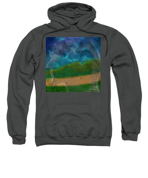 Portrait Of Time Sweatshirt