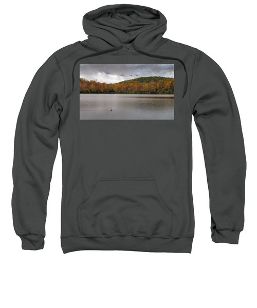 Price Lake Autumn - Grandfather Mountain - Blue Ridge Parkway Sweatshirt
