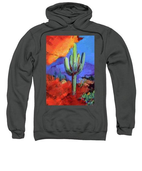 Under The Sonoran Sky By Elise Palmigiani Sweatshirt