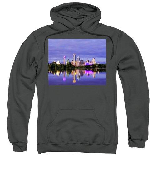 Purple Rain City Of Dallas Texas Sweatshirt