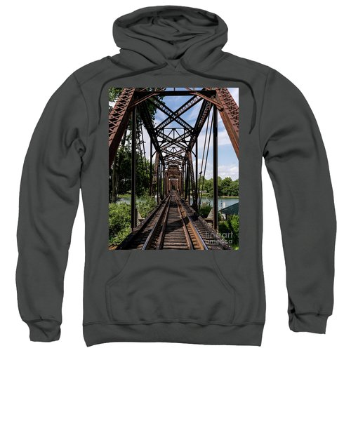 Railroad Bridge 6th Street Augusta Ga 1 Sweatshirt
