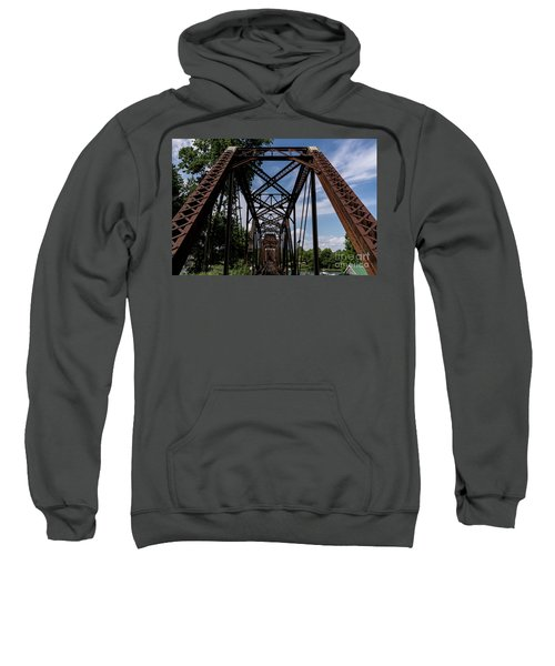 Railroad Bridge 6th Street Augusta Ga 2 Sweatshirt