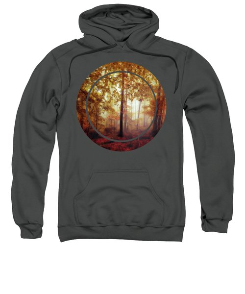 Rain Whispers - Misty Fall Forest Sweatshirt