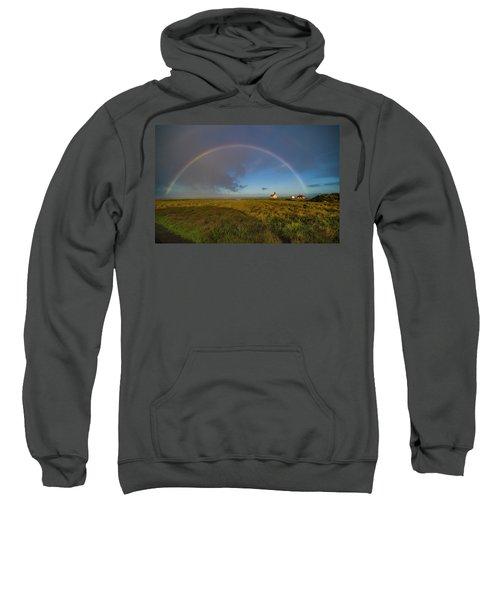 Rainbow At Point Cabrillo Sweatshirt