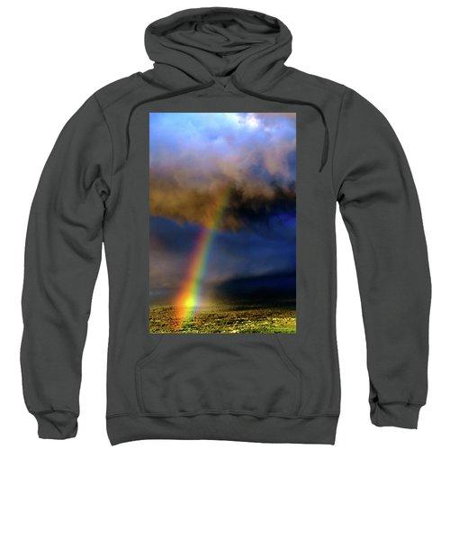 Rainbow During Sunset Sweatshirt