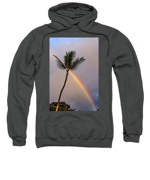 Rainbow Just Before Sunset Sweatshirt