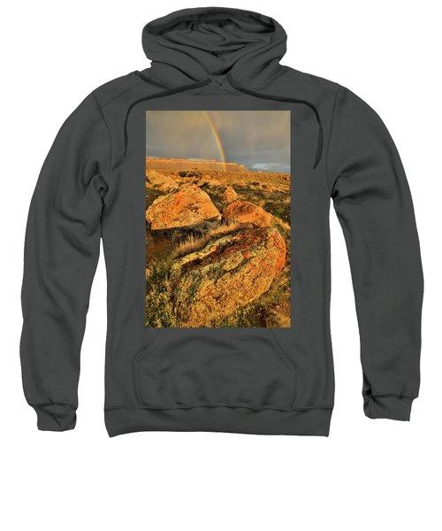 Rainbow Over The Book Cliffs Sweatshirt