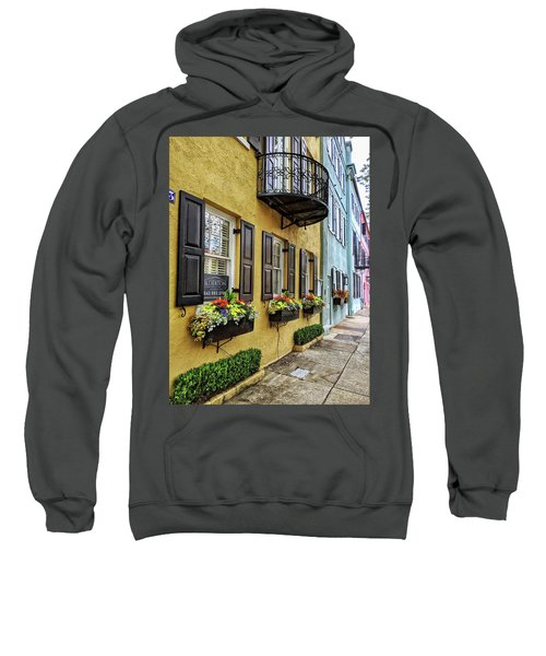 Rainbow Row Up Close Sweatshirt