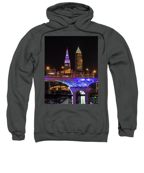 Rainbow Tower In Cleveland Sweatshirt