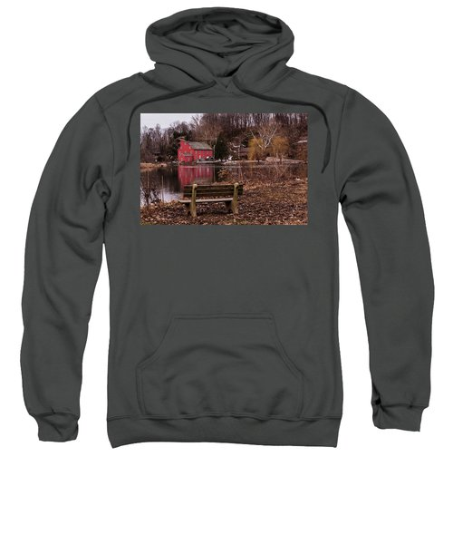 Red Mill Reflection Clinton New Jersey Sweatshirt