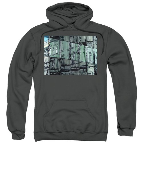 Reflection On Modern Architecture Sweatshirt