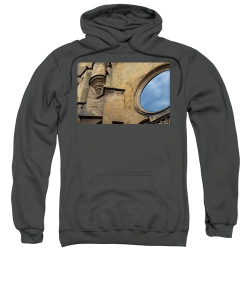 Reflection, Sarlat, France Sweatshirt