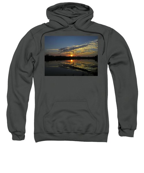 Reflections Of The Passing Day Sweatshirt