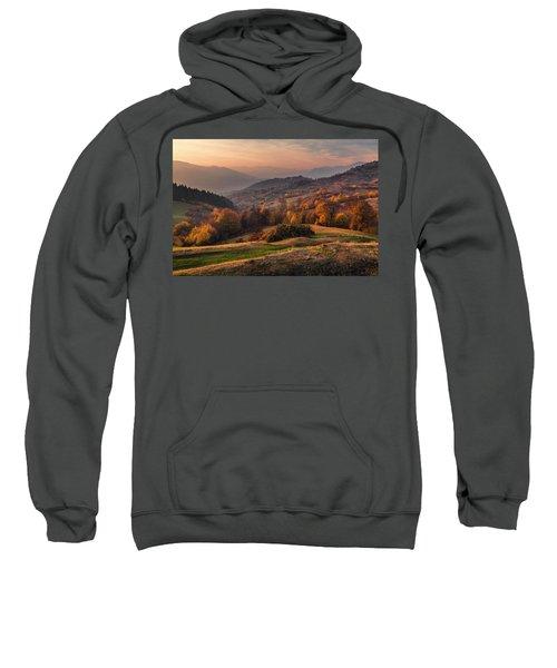 Sweatshirt featuring the photograph Rhodopean Landscape by Evgeni Dinev