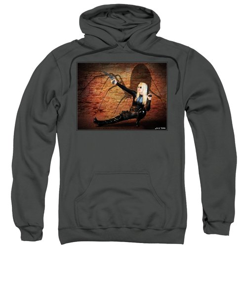 Rise Of The Black Widow Sweatshirt