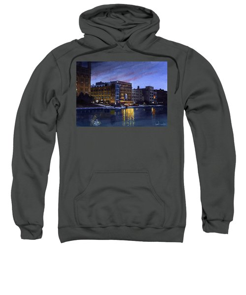 Riverwalk Nocturne Sweatshirt