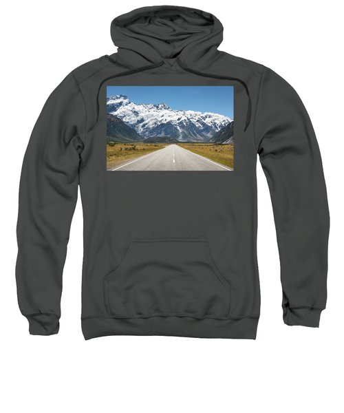 Road Trip In The Southern Alps Sweatshirt