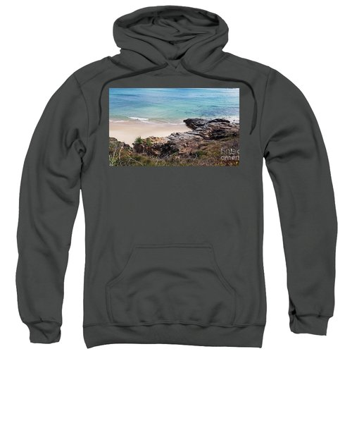 Rocks Sand And Water  Sweatshirt