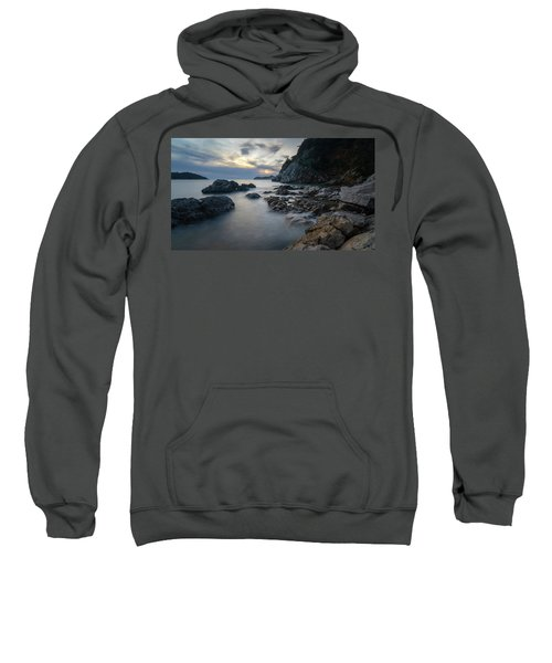 Rocky Coast Near Dubrovnik Sweatshirt