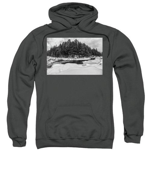 Rocky Gorge N H, River Bend 1 Sweatshirt