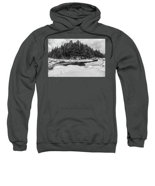 Rocky Gorge N H, River Bend 1 Sweatshirt