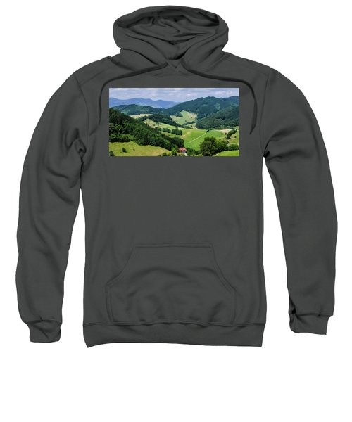 Rolling Hills Of The Black Forest Sweatshirt
