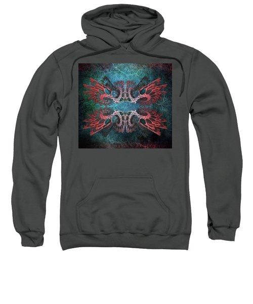 Romantic Grunge. Fractal Abstract Sweatshirt
