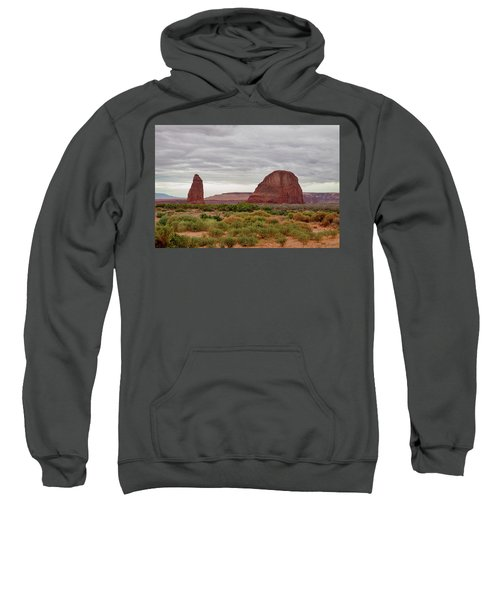 Sweatshirt featuring the photograph Round Rock by James BO Insogna