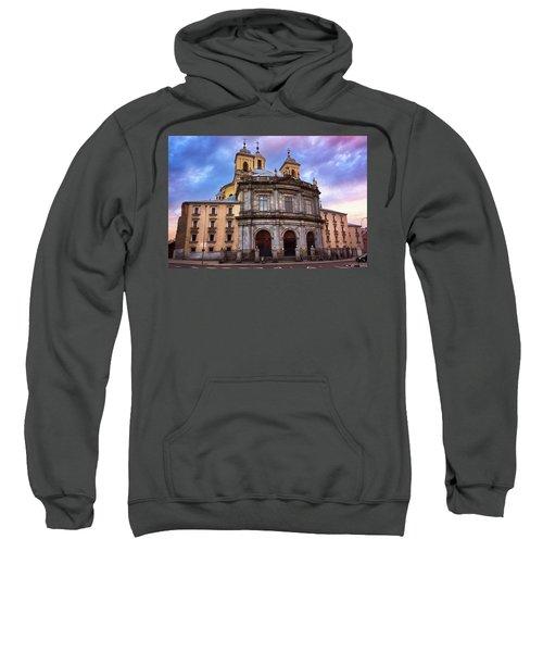 Royal Basilica Of San Francisco El Grande Sweatshirt