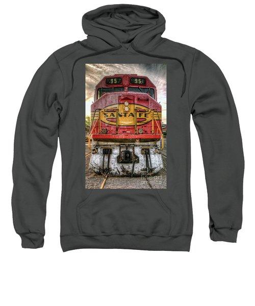 Santa Fe Train Engine Sweatshirt