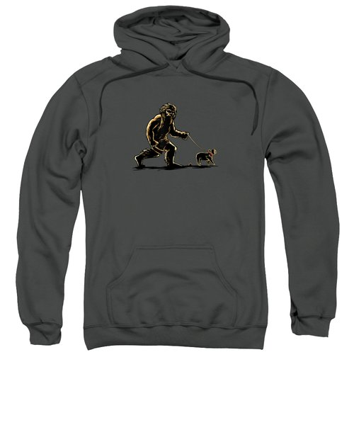 Sasquatch Walking French Bulldog T-shirt Frenchie Lovers Sweatshirt