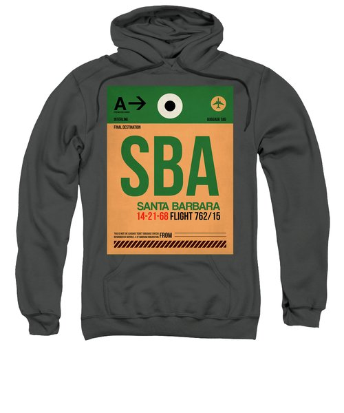 Sba Santa Barbara Luggage Tag I Sweatshirt