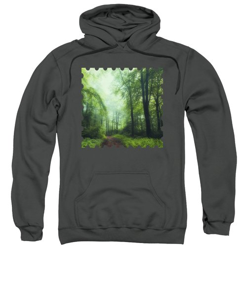 Scent Of Summer In The Forest Sweatshirt