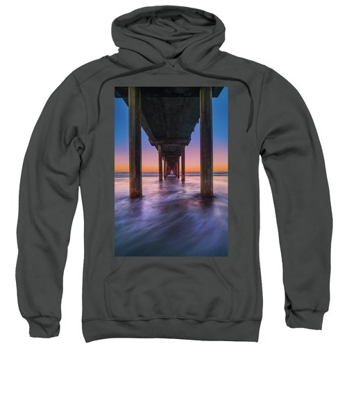 Scripps Pier - 2 Sweatshirt