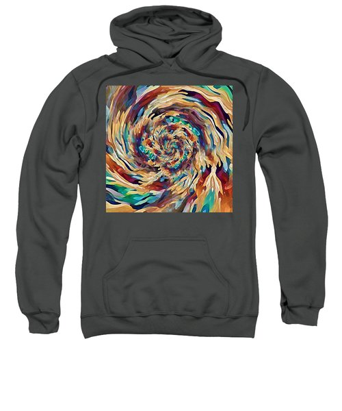 Sea Salad Swirl Sweatshirt