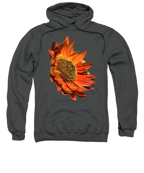 Selective Color Sunflower Sweatshirt