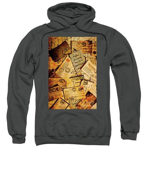 Sentimental Writings Sweatshirt
