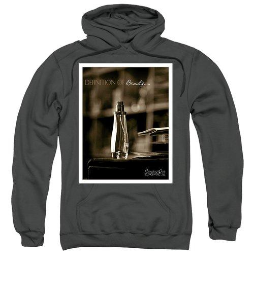 Sepia Definition Of Beauty Sweatshirt