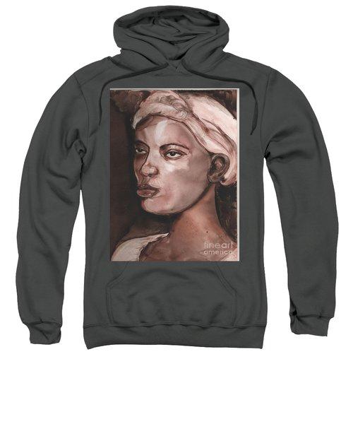 Sepia Woman Sweatshirt
