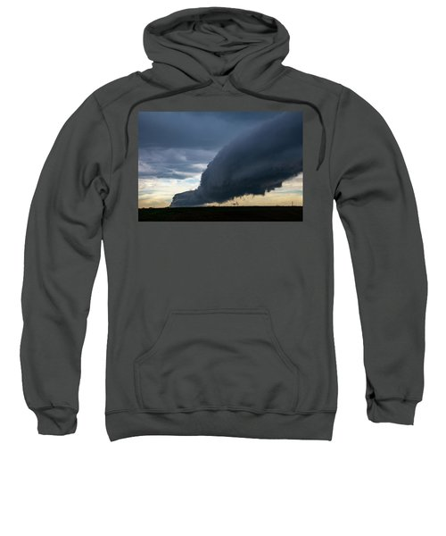 September Thunderstorms 003 Sweatshirt