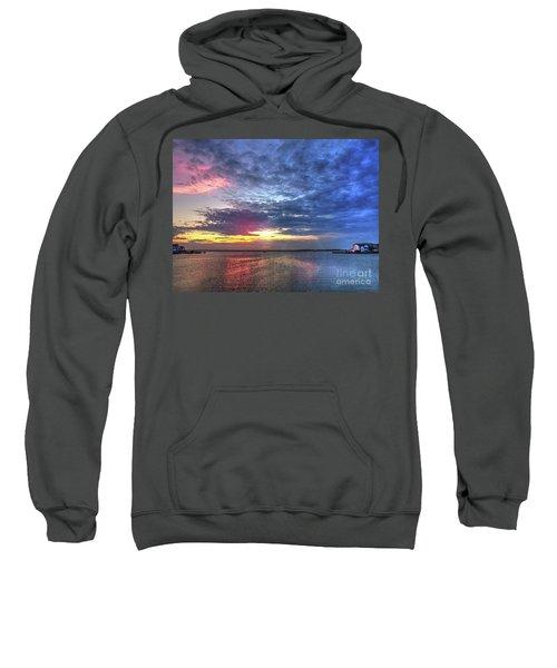 Ship Bottom Sunset Sweatshirt