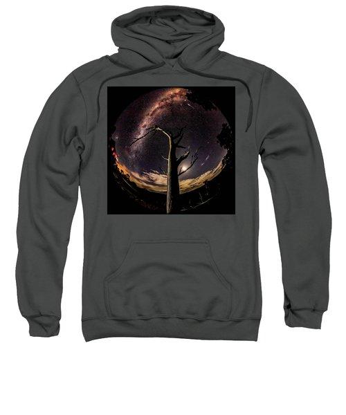 Shooting Stars And Milky Way Sweatshirt