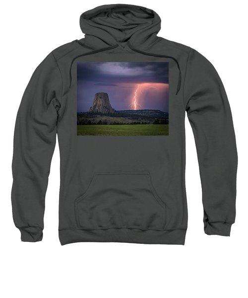 Showers And Lightning Sweatshirt
