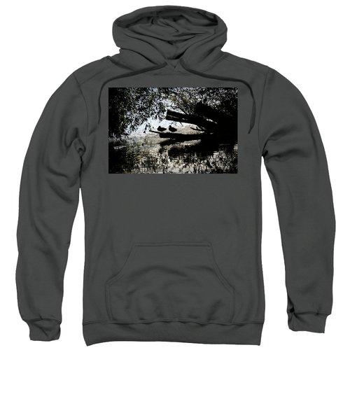 Silhouette Ducks #h9 Sweatshirt