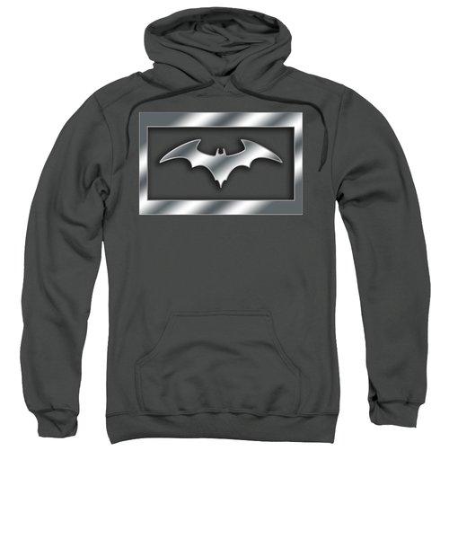 Silver Bat Transparent Sweatshirt