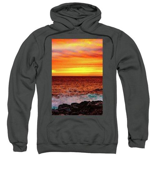 Simple Warm Splash Sweatshirt
